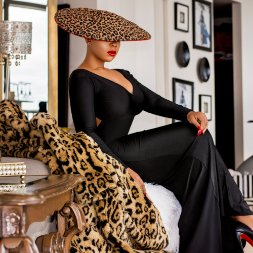 Couture Hat By Milli Starr
