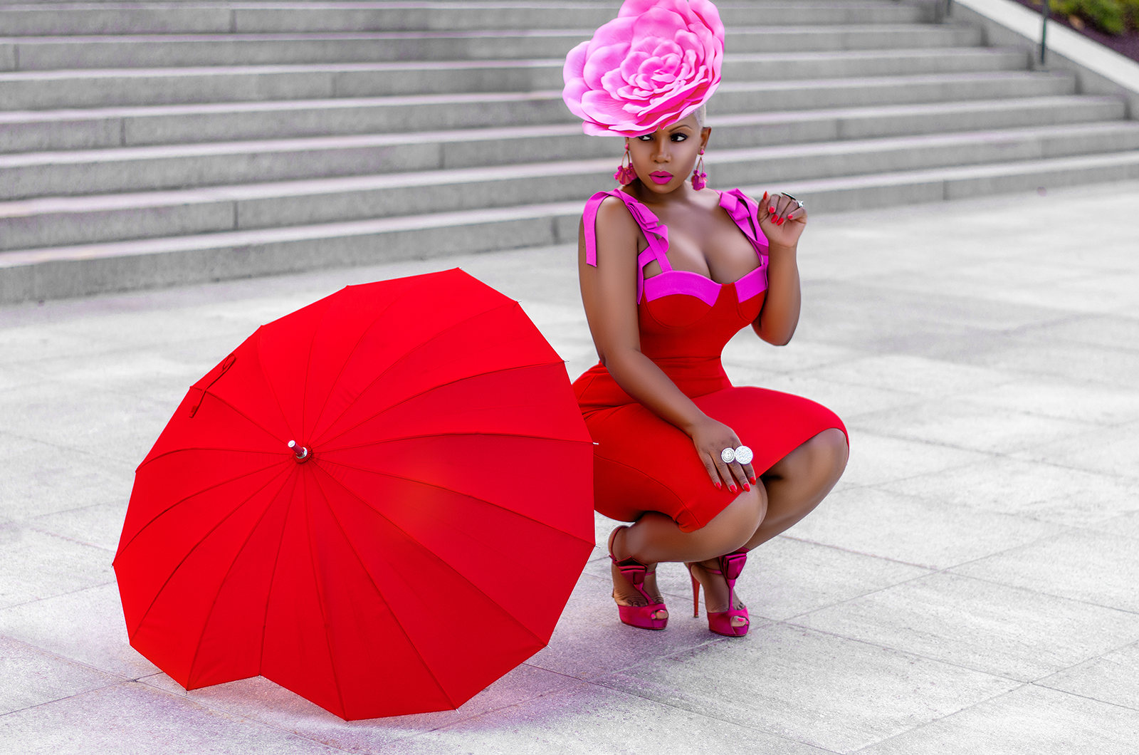 pink and red trend